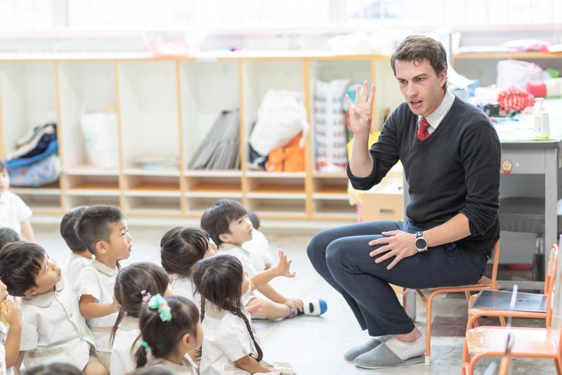 英語の授業イメージ